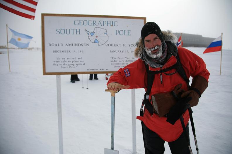 Lance at South Pole