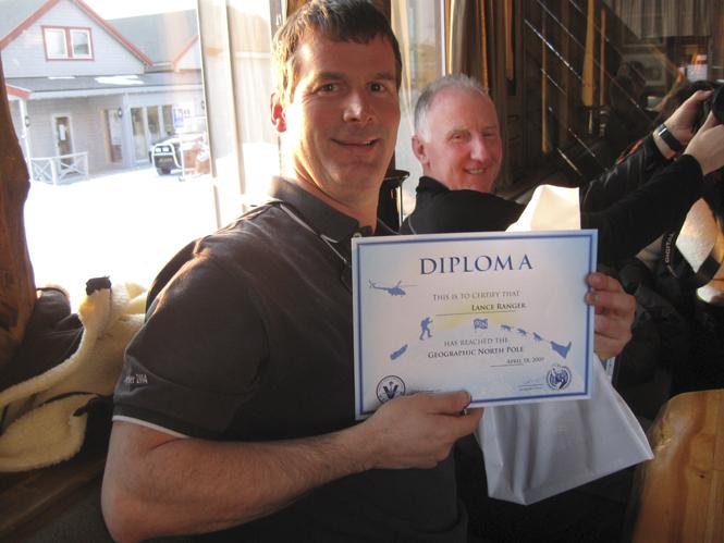 North Pole Diploma