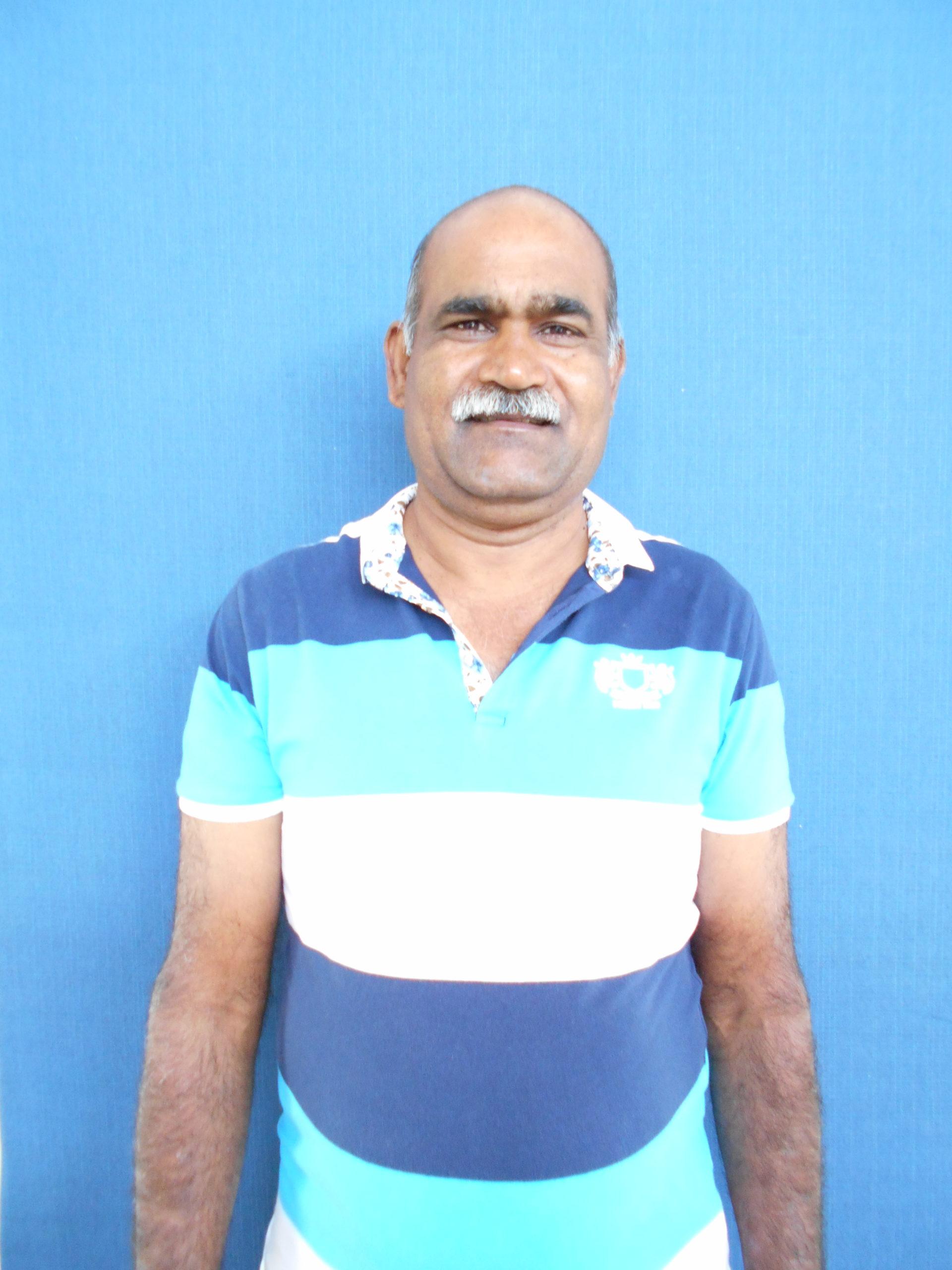 Hany worker and gardener